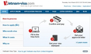 Vietnam visa service for Australians, Canadians and UK citizen goes online