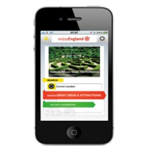 VisitEngland unveils iPhone application
