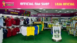 FIFA World Cup 2014: FIFA World Cup fan stores in full swing