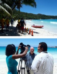 Anse Lazio of Praslin open again with a full contingent of life guards