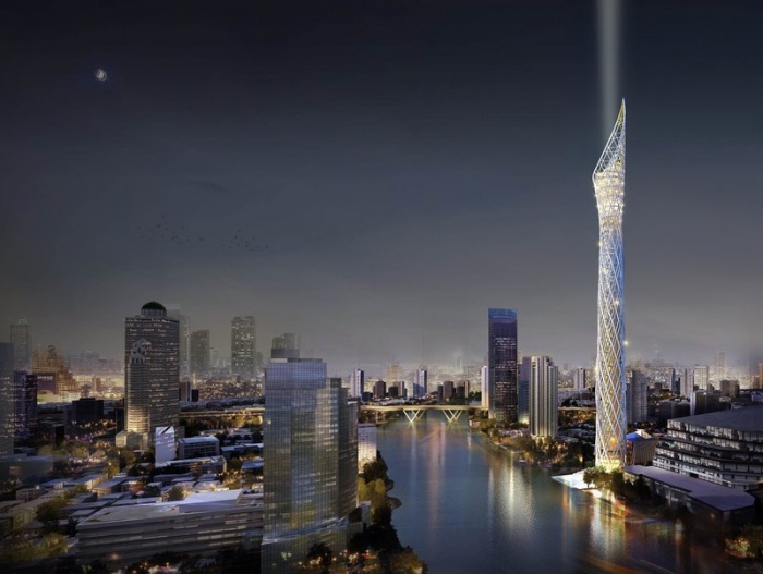 Plans unveiled for 459-metre observation tower in Bangkok