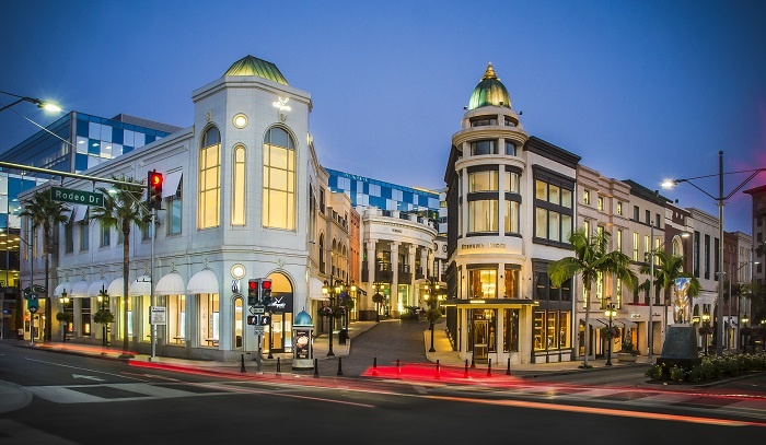 Beverly Hills welcomes increase in visitor numbers