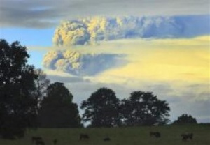 Chile rocked by volcanic eruptions