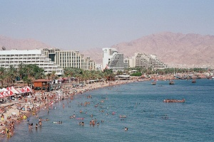 Eilat hit by two rockets