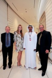Miss World wows at Abu Dhabi F1