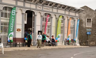 Jamestown Market undergoes restoration in St Helena