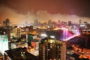 Johannesburg in web focus