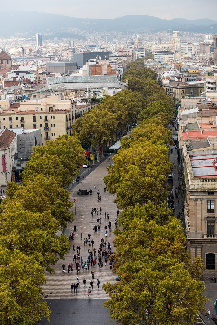 Las ramblas terror attack kills 13 injures dozens news for Las ramblas hotel barcelona