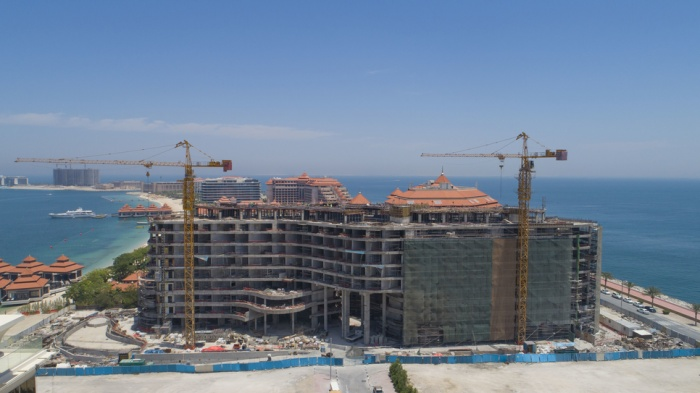 Mina by Azizi reaches construction milestone on Palm Jumeirah