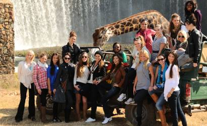 Miss Worlds enjoy sumptuous South African hospitality