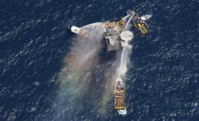 Oil rig explodes in Gulf of Mexico