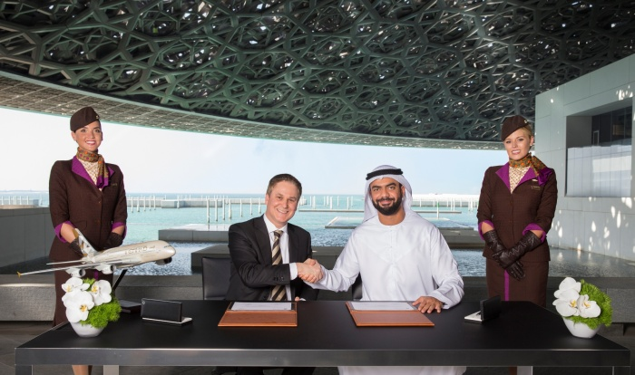 Louvre Abu Dhabi signs Etihad Airways partnership