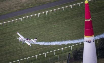 Ascot welcomes Red Bull Air Race to UK