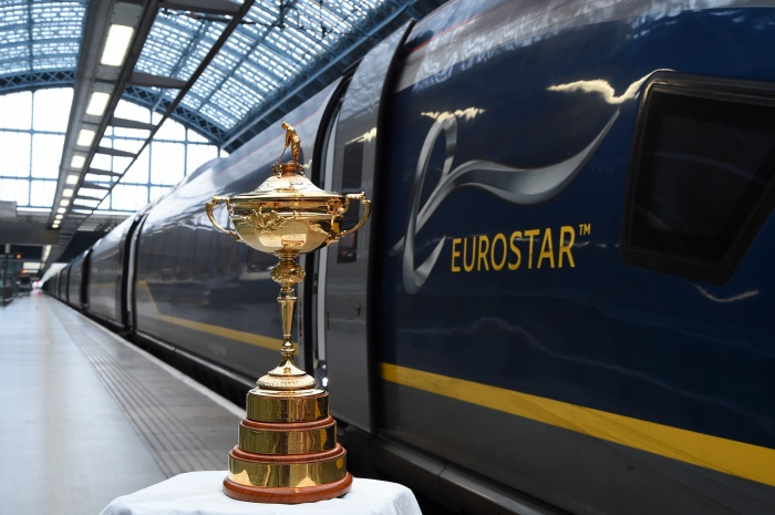 News: Eurostar welcomes the Ryder Cup to London as tournament draws closer