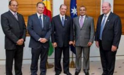 Seychelles President concludes Australia state visit