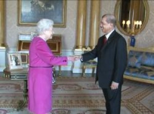 Seychelles President Michel attends audience with HM Queen Elizabeth II
