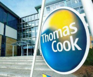Thomas Cook falls from FTSE 250