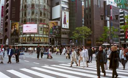 Tourists turn their attention back to Japan