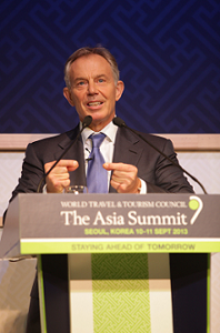 WTTC: Blair urge West to compete inbooming global tourism industry