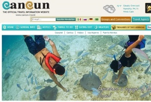 Cancun Convention and Visitors Bureau improves online reach with .travel