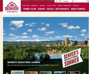Denver's most popular tourism website gets an extreme makeover
