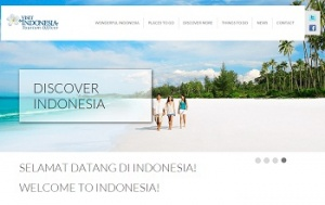 Indonesia's new tourism website targets UK