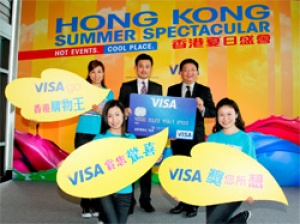 Hong Kong Tourism  teams up with Visa