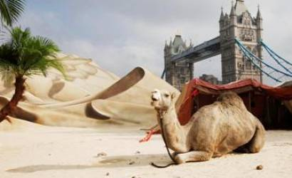 Sahara Desert comes to London