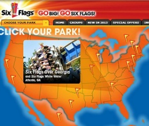 2013 season off to a record start at Six Flags with 32 percent revenue growth