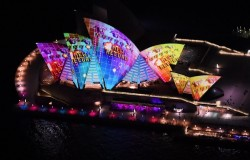 Vivid Sydney sees record 270,000 visitors during opening weekend