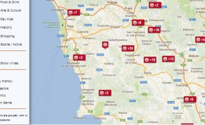 Tuscany Now launches interactive map of Tuscany