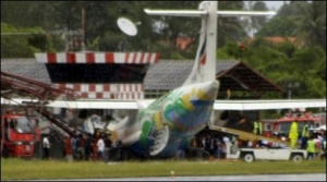 Pilot killed and passengers hurt in Thai jet crash