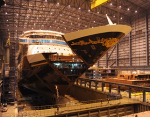 Disney Dream nears completion