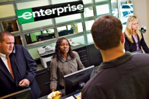 Enterprise Rent-A-Car offers Volt in California
