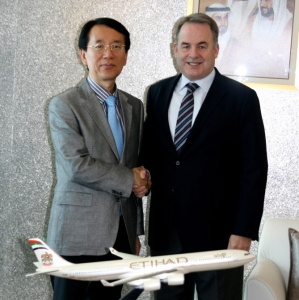 Etihad launches service to Seoul