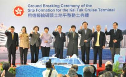 Hong Kong Breaks Ground with Kai Tak Cruise Terminal