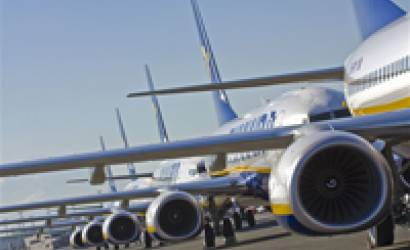 Ryanair boosts Edinburgh services 42% with 8 new routes