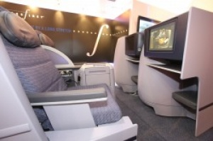 Continental unveils new flat-bed seat at WTM