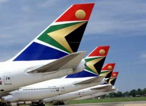 Boeing, South African Airways in environmental focus