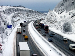 Snow chaos continues to gridlock UK