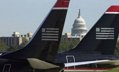 Proposed US Airways-United merger pushes shares up
