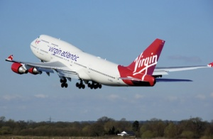 Virgin Atlantic welcomes its new Airbus A330 at Gatwick