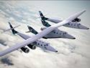 Virgin Galactic unveils spacecraft