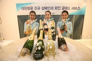Korean Air brings Perrier-Jouët to the skies