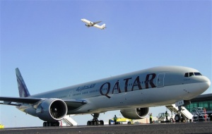 Qatar completes first natural gas flight
