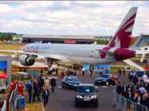Qatar Airways a show-stopper at Farnborough