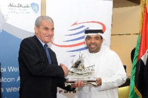 Royal Falcon Airlines is welcomed by Abu Dhabi International Airport