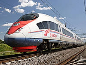 Russian high speed train enters service