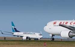 Canadian airlines rebound in second quarter