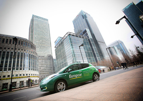 Europcar Expands Electric Car Options In London With Nissan Leaf